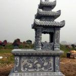 Mẫu mộ đá ba mái đẹp NB 19