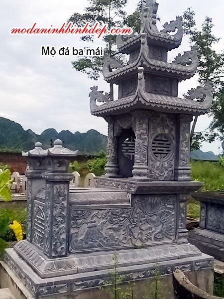 mộ đá ba mái NB 05