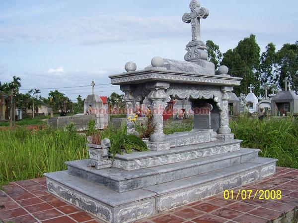 Mộ đá công giáo NB 09
