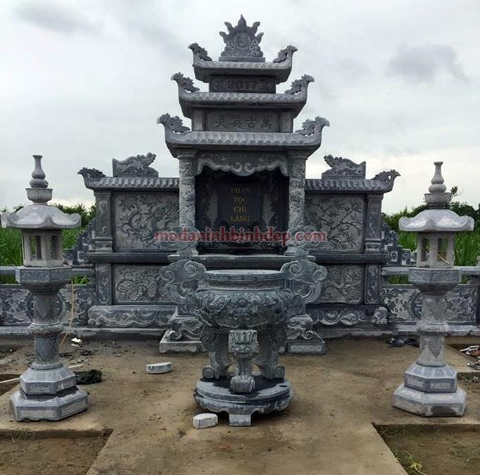khu thờ chung lăng mộ NB 89
