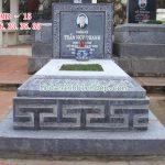 Mẫu mộ đá giá rẻ RMD-15