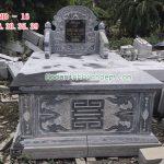 Mẫu mộ đá đẹp long an RMD-16