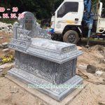 Mẫu mộ đá không mái đẹp RMD-29