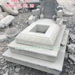 Mẫu mộ đá tam cấp RMD-34