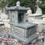 Mẫu mộ đá một mái RMD1-04