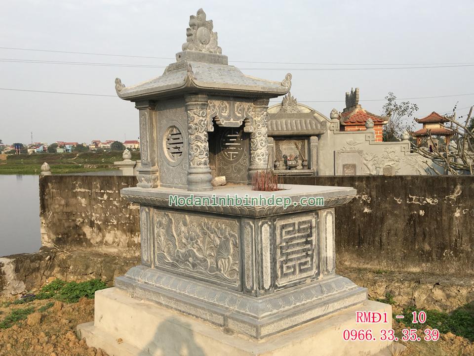 Mẫu mộ một mái đẹp
