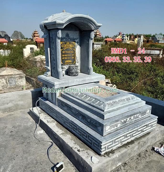 Mẫu mộ đá một mái vòm