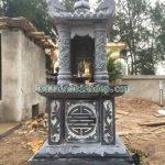 Mẫu mộ đá một mái giá rẻ RMD1-28