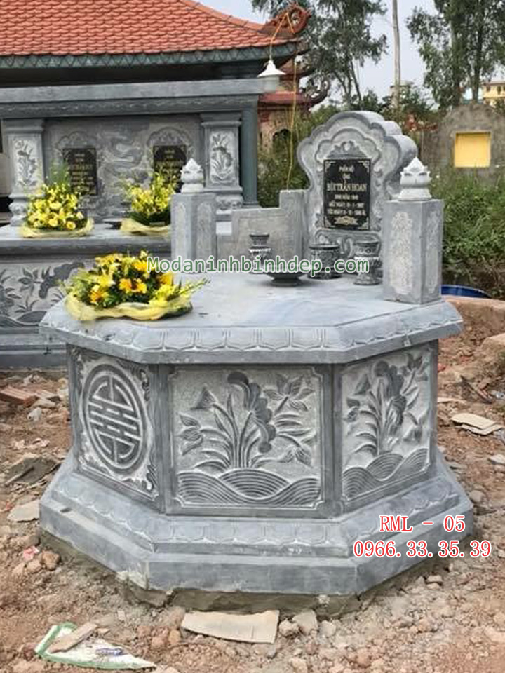 Mẫu mộ đá lục lăng