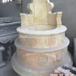 Mẫu mộ tròn bằng đá RMT-73