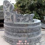 Mẫu mộ tròn bằng đá RMT-88