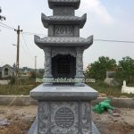 Mẫu mộ đá ba mái RMD3-53