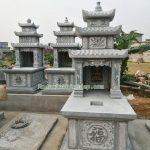 Mẫu mộ đá ba mái RMD3-56