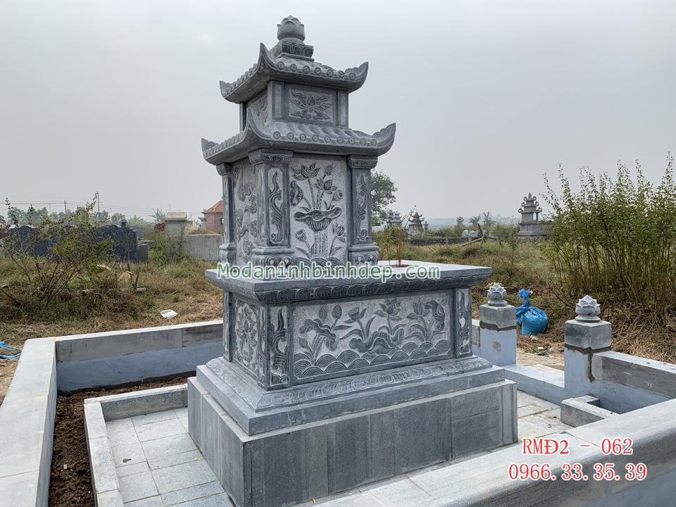 Những mẫu mộ đá hai mái