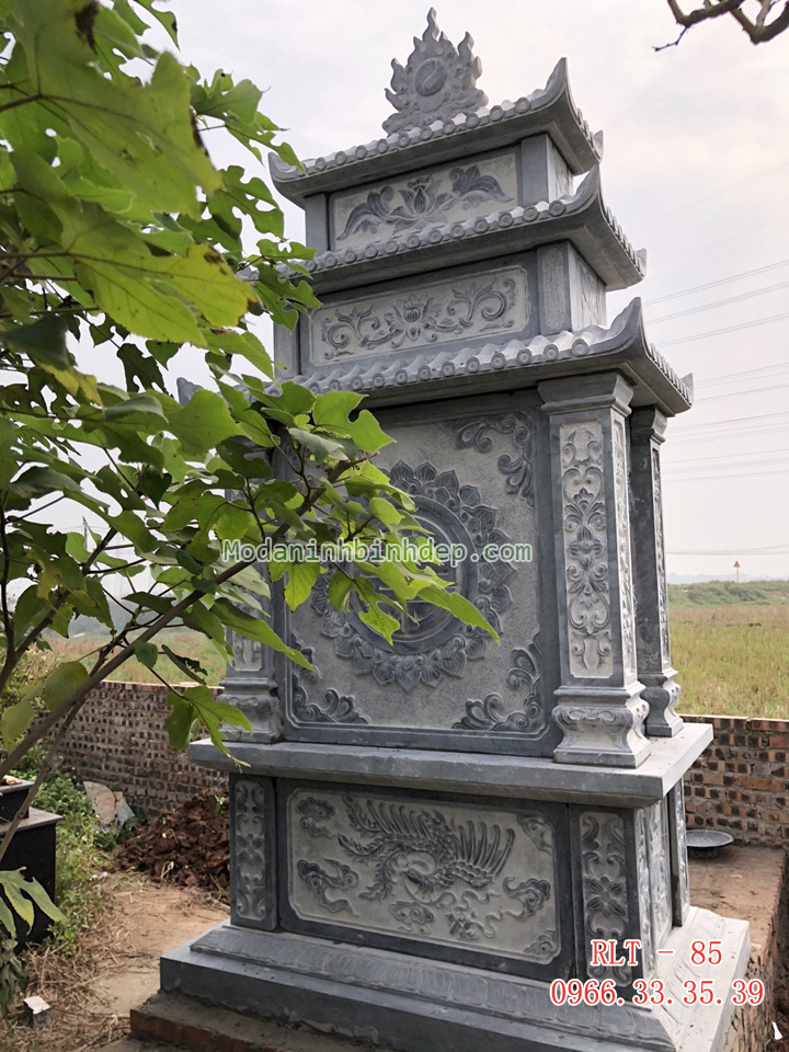 Mẫu lăng thờ bằng đá đẹp
